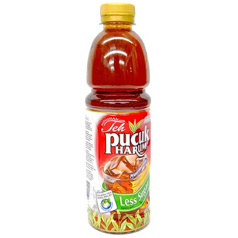 hypermart teh pucuk harum less sugar 350ml