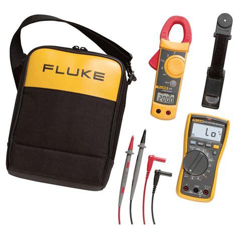 Fluke 117 323 Electricians Multimeter Combo Kit fluke 117 323 electricians multimeter combo kit