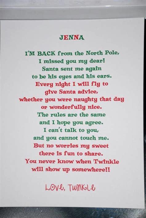 Elf On The Shelf I M Back Letter Printable | elf on the shelf welcome back letter search results
