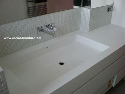 corian integrated bathroom sinks corian acrylic solid - Corian Integrated Basin