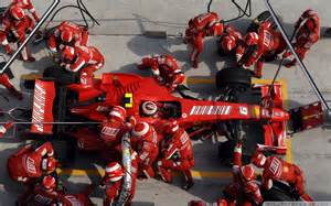 Pit Stop Formula One Pit Stop Air View 1920x1200 Wide