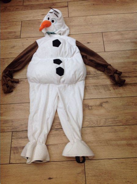 an olaf dress up costume to say quot awwww quot over ruffles and disney frozen olaf costume dress up soft plush outfit age