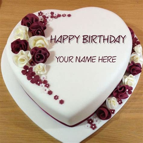 birthday cake with name edit for facebook clipartsgram com