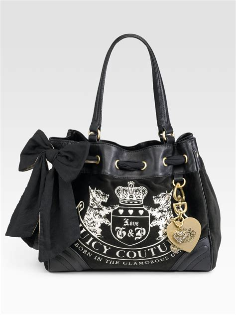 Couture Purse Deal Couture Handbags On Sale by Lyst Couture Velour Heritage Crest Dreamer Bag In