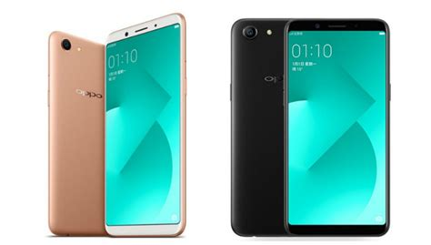 Oppo A83 Black oppo a83 with 5 7 inch 18 9 display unlock feature