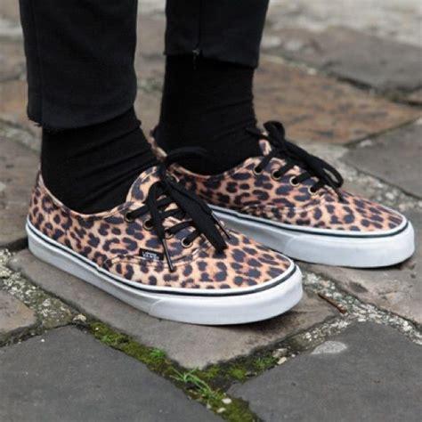 Vans Era Leopard Black vans 174 authentic leopard shoes used leopard shoes