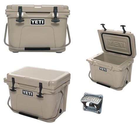 how to install yeti bottle opener yeti cooler tan roadie 20 cooler size 20 new yr20t free