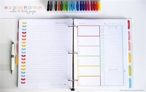 free printable organizer planner 2015 7 best images of 2015 daily planner printable pages free