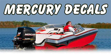 mercury outboard motor graphics mercury outboard decals
