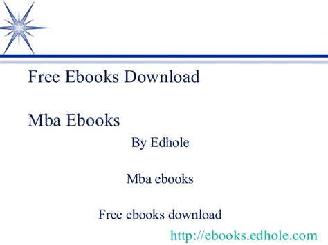Free Books On Mba by Mba Ebooks Edhole