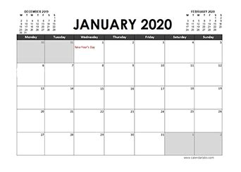 monthly ireland calendar template  printable templates