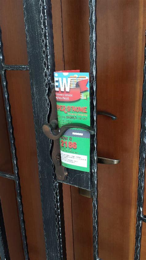 door to door flyer distribution toronto door flyer distribution