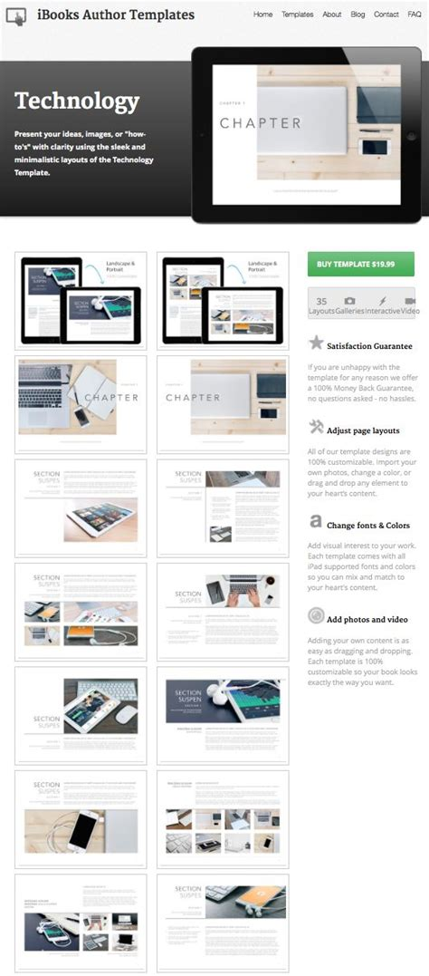 17 best images about ibooks author templates on pinterest