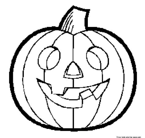 halloween pumpkins printable coloring pages for kidsfree