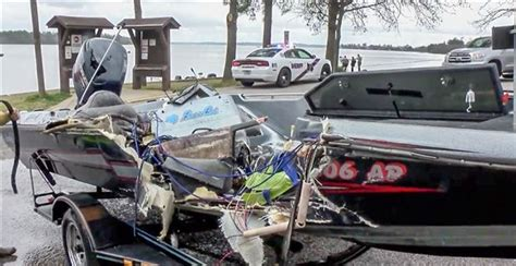boat crash bass lake deadly bass boat wreck on lake conroe