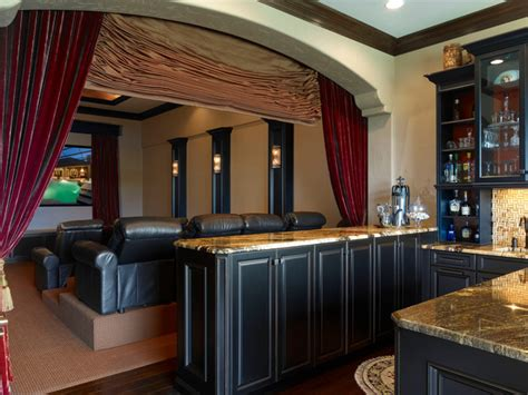 private residence  traditional home theater orlando  niemann interiors