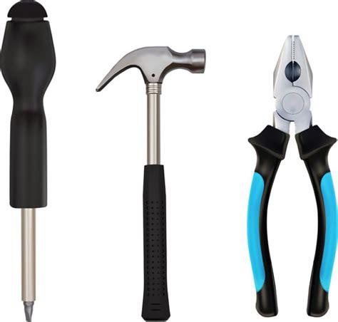 free tool various building tools elements vector set 02