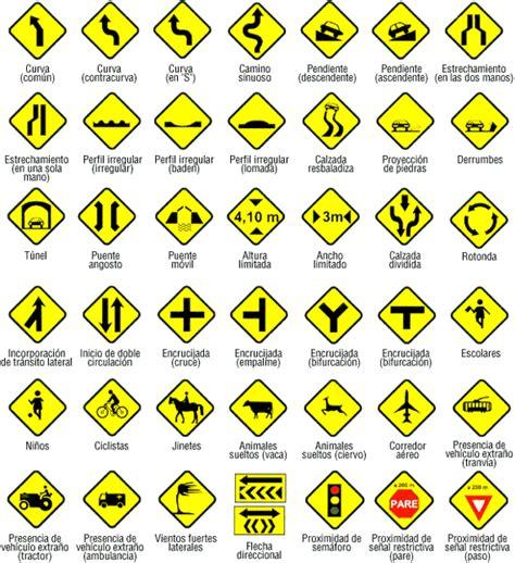 imagenes de señales informativas en ingles se 241 ales de transito preventivas sideat