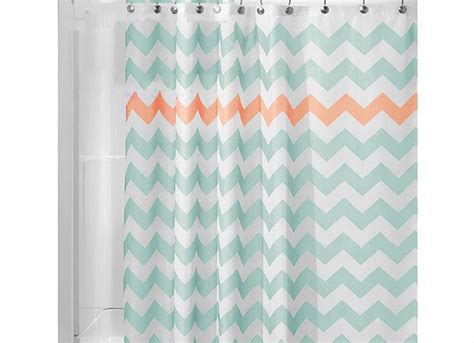 Simple Shower Curtains Green Polyester Shower Curtain For Bath Room Simple Wave Striped Printed Waterproof Hook Shower