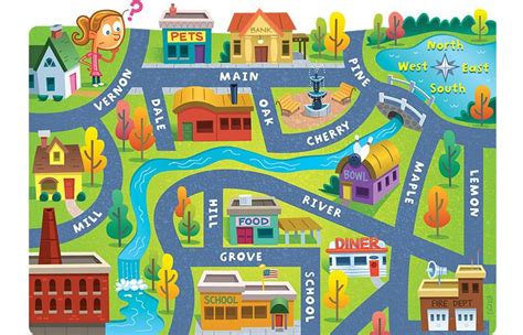 printable children s road map kid map google search 地図 pinterest review games