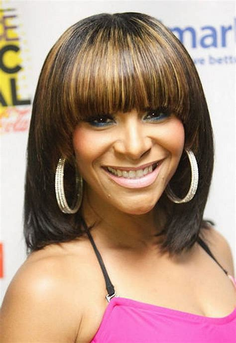 Black Hairstyles Bob With Bangs by Bob Hairstyles With Bangs Beautiful Hairstyles