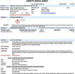 osha sds template the gallery for gt msds binder cover template