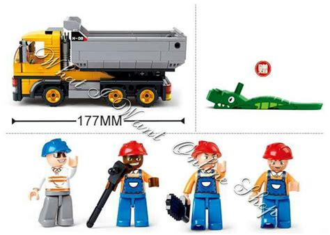 Lego Sluban Kode M38 B0135 jual lego sluban town series dumper truck what i want shop di omjoni