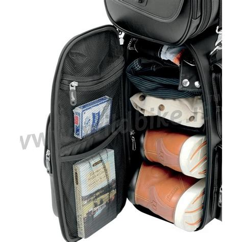 travel bag leather expandable ex2200s drifter deluxe sissy