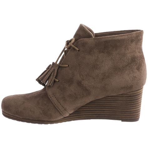 dr scholl s dakota wedge ankle boots for save 47