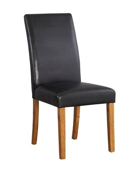 hartford country oak black dining chair