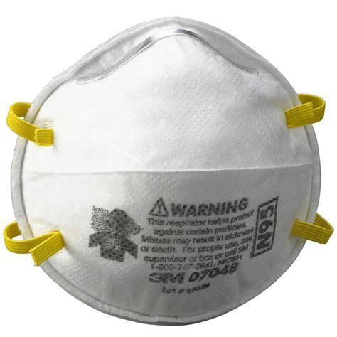 Masker Per Box 3m 07048 n95 particulate dust respirator mask