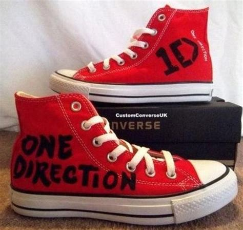 one direction shoes for one direction all converse i really want