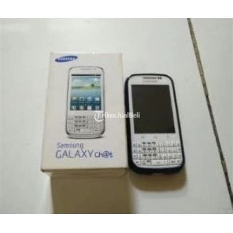 Harga Samsung Chat handphone qwerty android samsung galaxy chat gt b5330