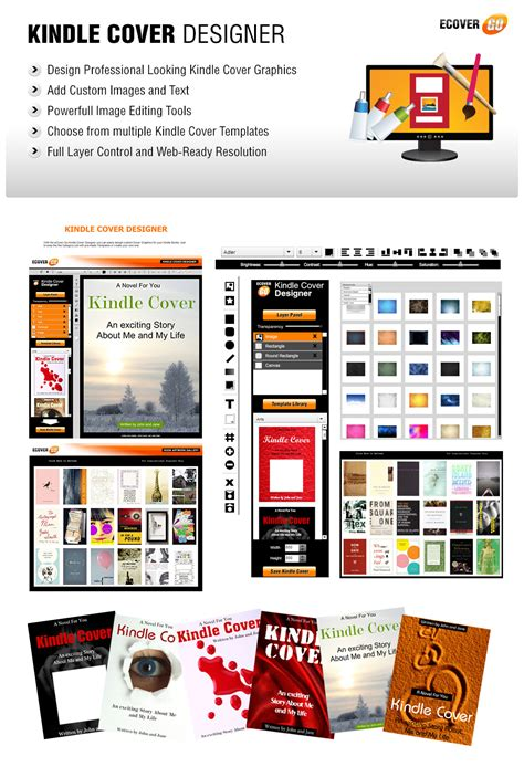 design kindle cover kindle cover designer ecover go online graphics suite