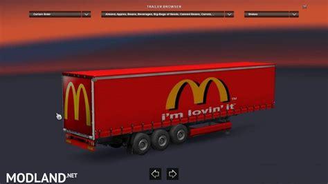 mcdonalds trailer mod  ets