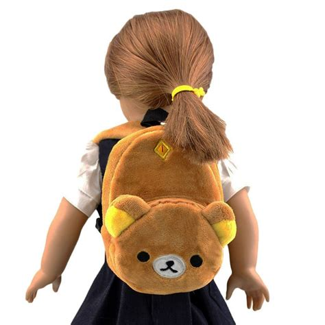 dolls animals 11color yellow animal doll backpack doll