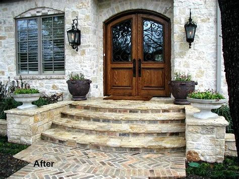 Front Door Steps Design Front Steps Outdoors Pinterest The Doors Front