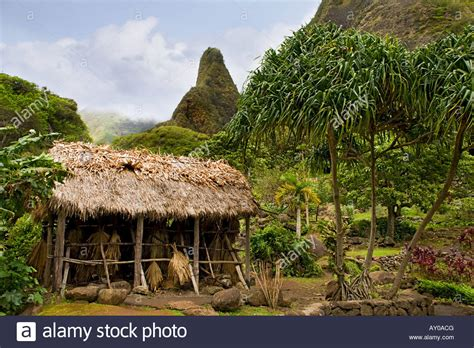 haus hawaii volcano house hawaii stockfotos volcano house hawaii