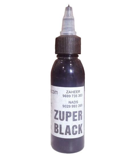 black ink tattoo prices mumbai zuper black ink 50 ml buy mumbai