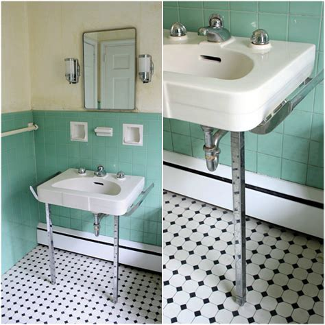 1950 bathroom fixtures meet me in philadelphia prepping the jadeite bathroom for