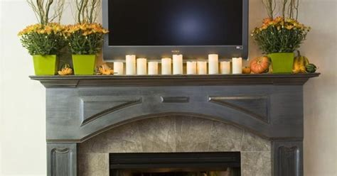 39 beautiful fall mantel d 233 cor ideas digsdigs holiday decorating ideas for your mobile home mantle
