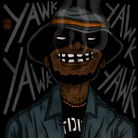 Schoolboy Q Drawing by Schoolboy Q Two By Tedikuma On Deviantart