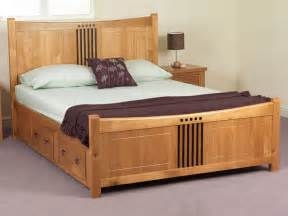 Wooden King Size Bed Designs Catalogue » Home Design 2017