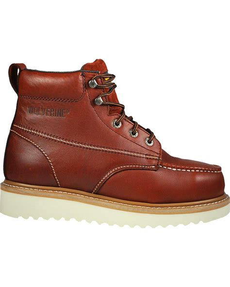 mens work boots brands wolverine s t bone steel toe work boots boot barn