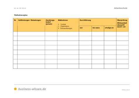 Word Vorlage Mit Makros Ma 223 Nahmenplan F 252 R Den Arbeitsschutz Business Wissen De