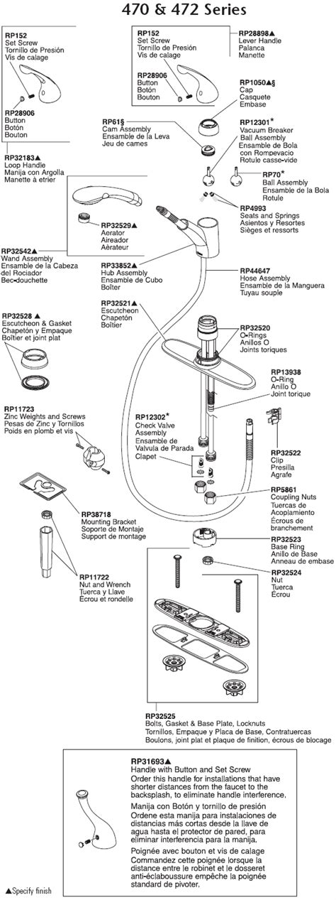 delta kitchen faucet repair manual lovely delta faucet 4380t dst plumbingwarehouse delta kitchen faucet parts model kitchen
