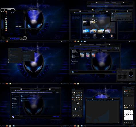 themes for windows 7 blue windows 7 theme alien blue glass by tono3022 on deviantart