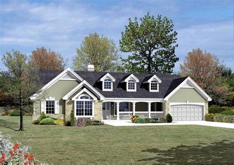 cape cod ranch house plans cape cod country ranch traditional house plan 87807