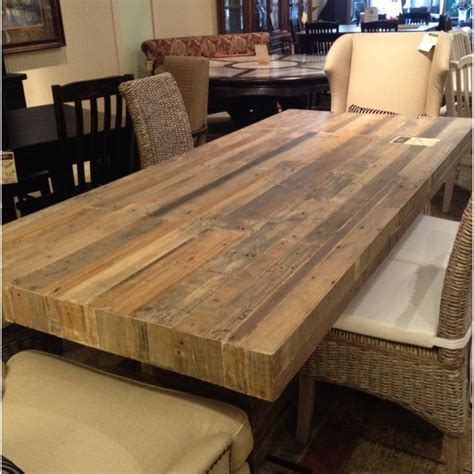 reclaimed wood dining table wood table rustic rustic