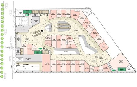 floor plan mall 05 parmis shopping mall floor plan pinteres